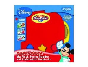 MY FIRST STORY READER WITH 3 MICKEY MOUS