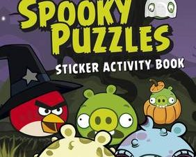 ANGRY BIRDS: SPOOKY PUZZLES STICKER ACTI