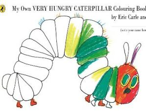 MY OWN VERY HUNGRY CATERPILLAR COLOURING