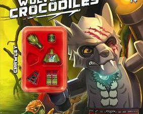 LEGO LEGENDS OF CHIMA: WOLVES AND CROCOD