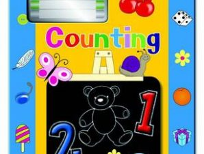 COUNTING CHALKBOARD ACTIVITY BOOK