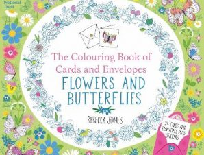 THE COLOURING BOOK OF CARDS AND ENVELOPE
