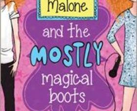 MAGGIE MALONE AND THE MOSTLY MAGICAL BOO