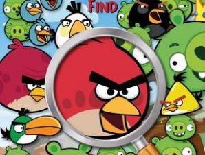 ANGRY BIRDS: SEARCH AND FIND