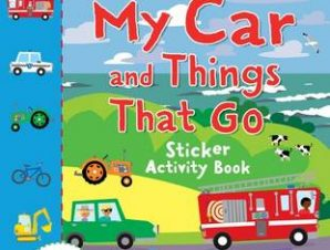 MY CAR AND THINGS THAT GO STICKER ACTIVI