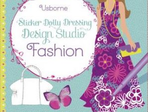 FASHION STICKER DOLLY DRESSING
