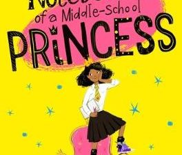 NOTEBOOK OF A MIDDLE SCHOOL PRINCESS PB