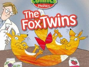COMICS FOR PHONICS THE FOX TWINS RED A S