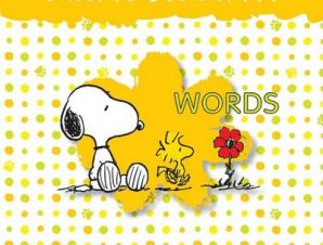SNOOPYS BOOK OF WORDS