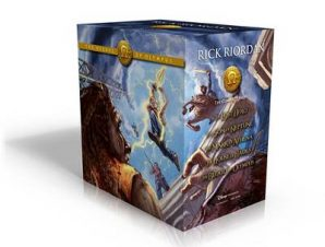THEHEROES OF OLYMPUS PAPERBACK BOXED SE