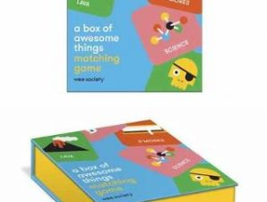 A BOX OF AWESOME THINGS MATCHING GAME