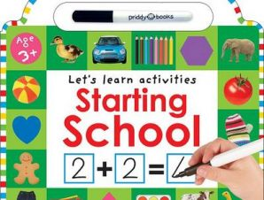 WIPE CLEAN LEARNING STARTING SCHOOL BB