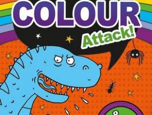 GET COLOURING BOYS: COLOUR ATTACK! PB