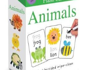 ALPHAPRINTS FLASHCARDS: ANIMALS