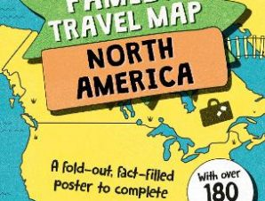 MY FAMILY TRAVEL MAP: NORTH AMERICA