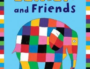 ELMER & FRIENDS FIRST COLOURING ACTIVITY