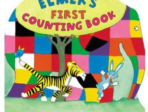 ELMERS FIRST COUNTING BOOK SHAPED BOARD