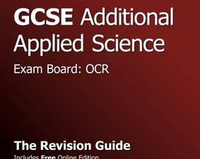 GCSE ADDITIONAL APPLIED SCIENCE OCR REVI