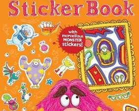 THE MONSTER STICKER BOOK