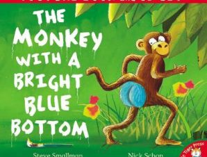 THE MONKEY WITH A BRIGHT BLUE BOTTOM (PI