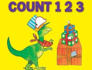 Look and Learn with Little Dino: Count 123