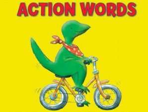 Look and Learn with Little Dino: Action Words