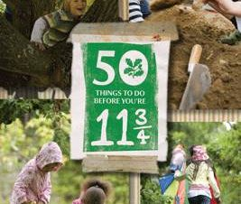 50 THINGS TO DO BEFORE YOURE 11 3/4