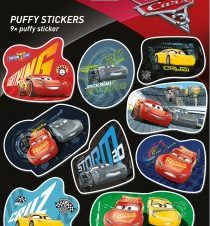 CARS 3: PUFFY STICKERS